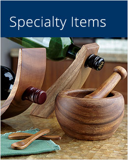 View Category Specialty Items