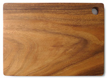 "Rectangular Chopping Board with Hole 12"" x 9"" x 0.75"