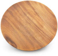"Round Plate with Base 12"" x 12"" x 1"""